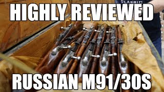 Russian Tula Manufactured M91/30 Mosin Nagant Rifle, Arsenal Refinished, Very Good - Excellent Condition, Round Receiver...7.62x54R W / Bayonet, Sling and Accessories.