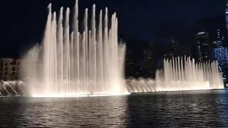 ОАЭ, Дубай, Нереально красиво! Арабские Эмираты шоу Танцующие или поющие фонтаны 2018