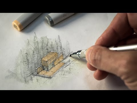 How to Sketch a Project like an Architect
