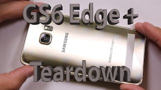Samsung Galaxy S6 Edge + PLUS Teardown and Repair video