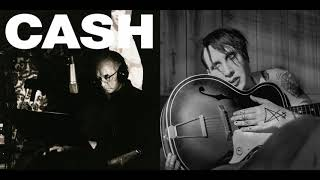 Johnny Cash and Marilyn Manson - God's Gonna Cut You Down REMIX/MASHUP