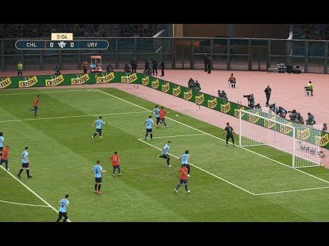 HD] Chile vs Uruguay   Match Copa America 2019 FIFA   24