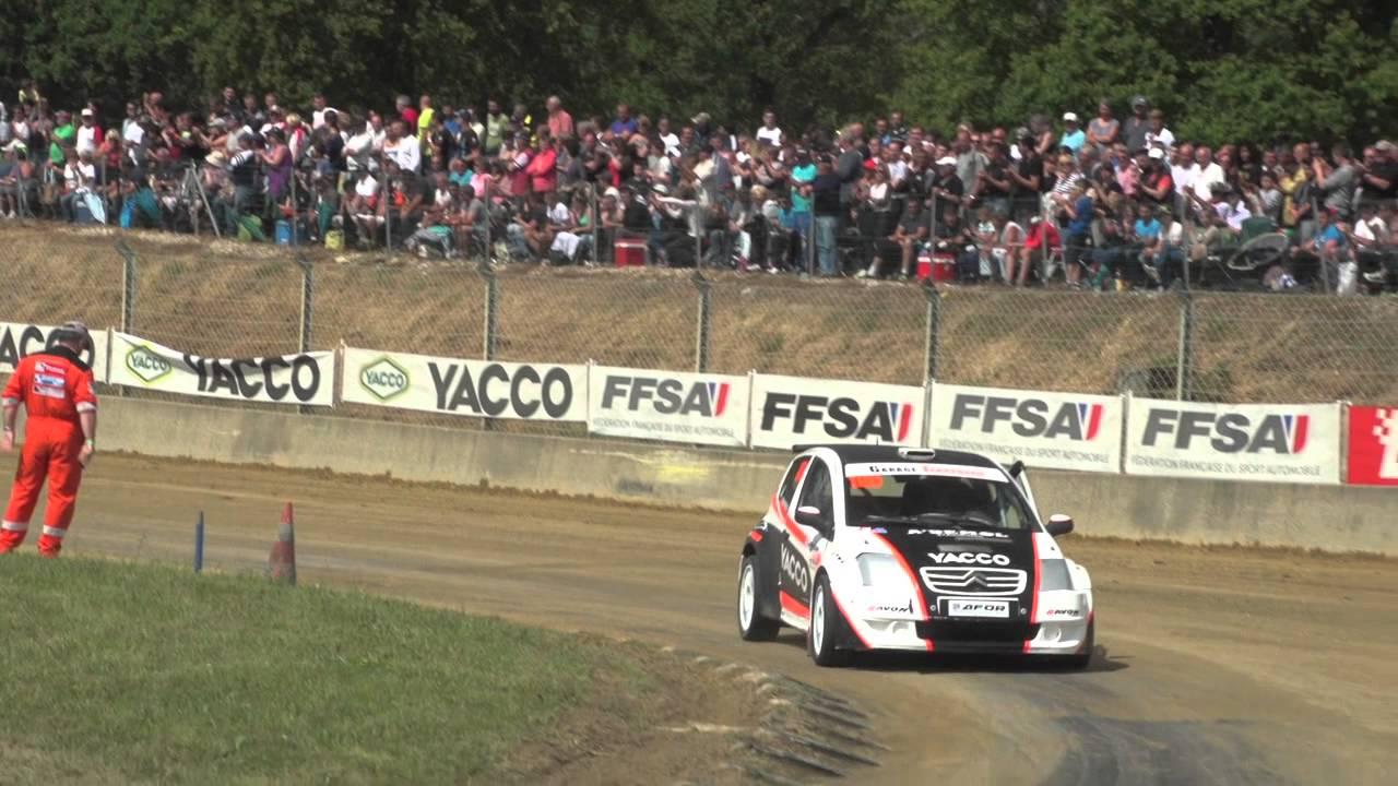 Rallycross 2015 sur AB Moteurs - Faleyras