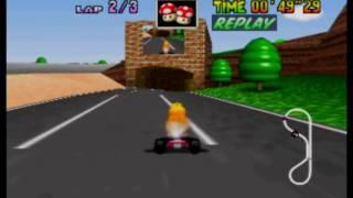 Mario Kart 64 - LR 3lap in 1'40''21