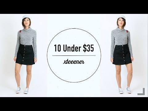 10 Kiểu Phối Đồ Đơn Giản Dưới $35 | Mix and Match Outfits!