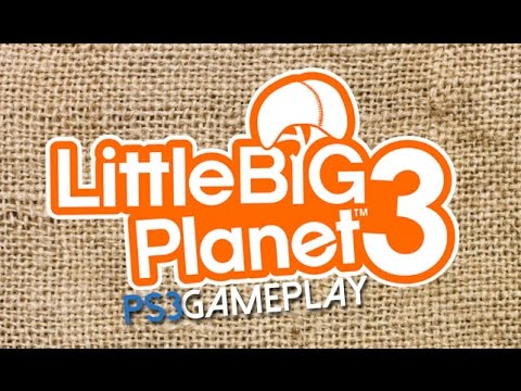 LittleBigPlanet 3 Gameplay (PS3 HD)