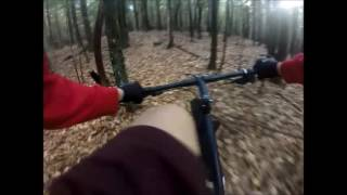 GoPro Footage of the Deer Head Trail, Wilton, NH.