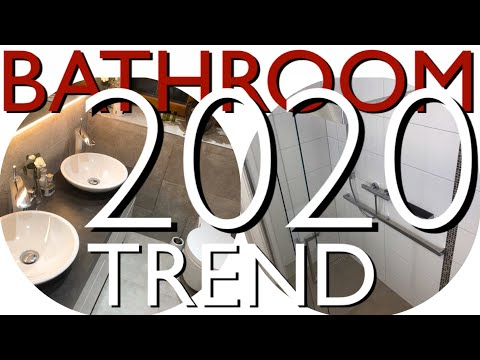 Small Bathroom Interior Design Ideas: TRENDS 2020