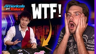 Magician Reacts to ERIC CHIEN! - POSSIBLY NEW AGT WINNER???