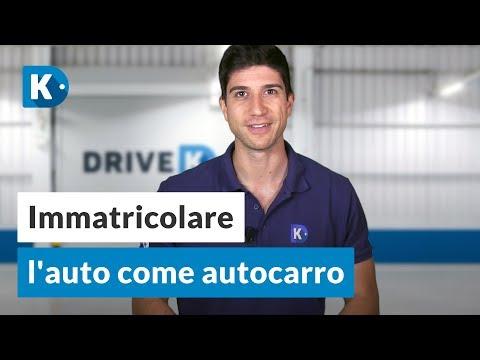 IMMATRICOLARE l'auto come AUTOCARRO: a cosa fare attenzione?