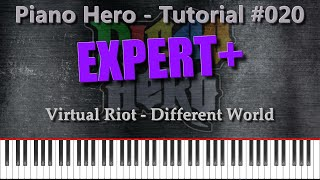 Virtual Riot - Different World [Piano Hero #020]