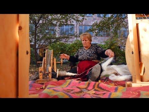 Fabrication des tapis arménien