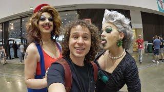 La convención de drag queens MÁS GRANDE DEL MUNDO! | DragCon 2017