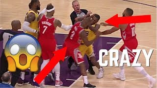 "NBA ""CRAZY"" Fights *MUST WATCH* ᴴᴰ"