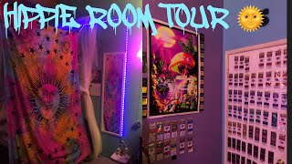 HIPPIE STONER ROOM TOUR!🌞