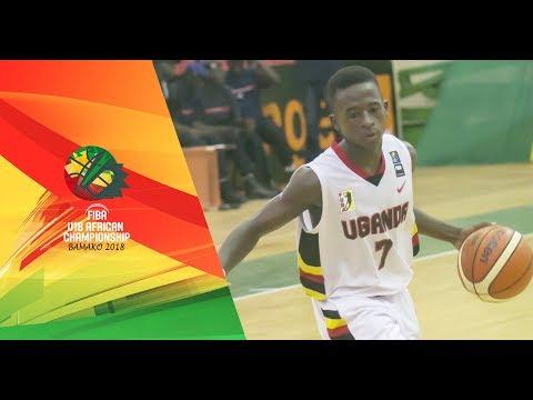 Uganda v Guinea - FIBA U18 African Championship 2018 c1ca6addf4fe8