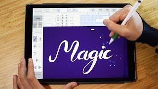 Magic ✨ Calligraphy Animation with iPad Pro