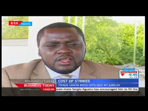 Business Today: Francis Atwoli explains the consequences of the strike on Kenyan economy 8/12/2016