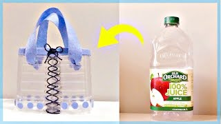 DIY No Sew Cute Handbag Out of Plastic Bottles