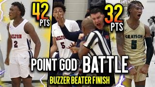 THIS GAME WAS WILD! Deivon Smith TESTED by Top Sophomore PG Bruce Thornton IN INSTANT CLASSIC