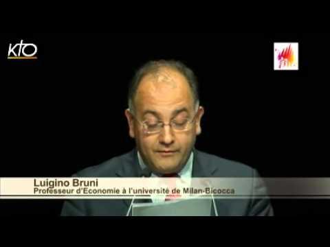 """""""La famille, le travail et la fête dans le monde contemporain"""" par le professeur Bruni"""