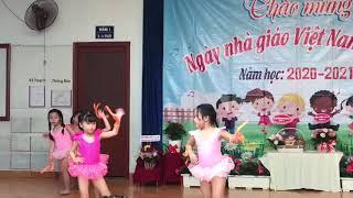 Nhịp điệu Điểm 3 ngày 20-11 mầm non Hoa Hồng Đỏ