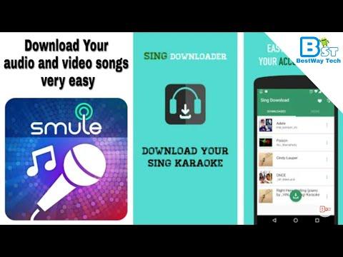 Como Converter Música Com o Sing Downloader For Smule
