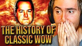 Asmongold Reacts To The History of Classic WoW (2007-2019) - Documentary By Punkrat