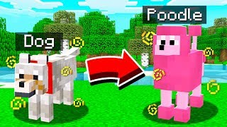 HOW TO TRANSFORM YOUR DOG IN MINECRAFT!