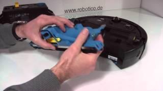 robotico Wartungsvideo iRobot Scooba 450 Reinigung