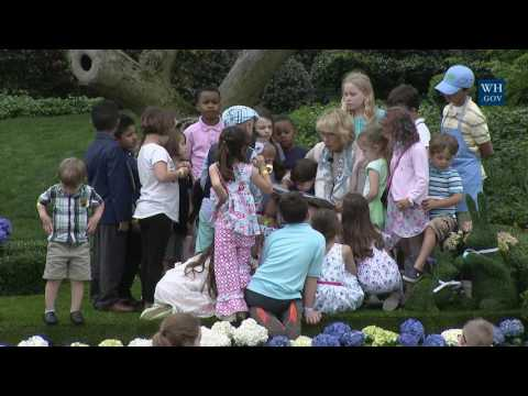 White House Easter Egg Roll: Reading Nook with Secretary of Education Betsy DeVos
