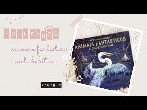 [FOLHEANDO] Animais Fantásticos e Onde Habitam | Editora Rocco | Livro Ilustrado | Parte 2