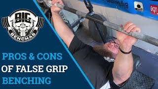 What is false grip bench press