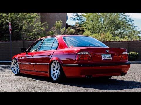 """Slammed """"VIP"""" BMW E38 740il  - One Take"""