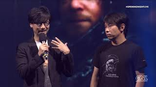 Death Stranding Gameplay World Premiere And Announcements With Hideo Kojima I Gamescom Opening Night