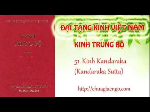Kinh Trung Bộ - 051. Kinh Kandaraka