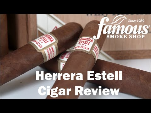 Herrera Esteli Habano video