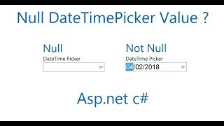How to set datetimepicker value to null in c#