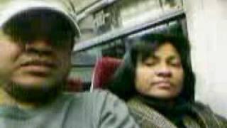 NANGI PUSHPA  AND I  - LATE TRAIN TO LONDON - SUMMER 2007