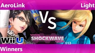 SW 113 - AeroLink (Bayonetta) vs CV Light (ZSS) Winners - Smash 4