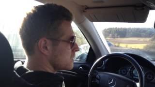 ГЕРМАНИЯ: Немецкие водилы и полиция на Ламборджини... GERMANY