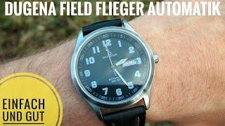Dugena Field - Flieger Automatik (Ref. 1977967) gute und günstige Alltagsuhr!