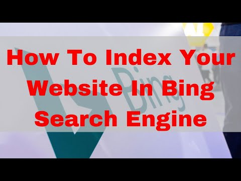 How to index your website in Bing search engine