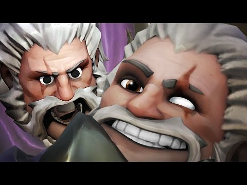 Overwatch - Reinhardt On Drugs