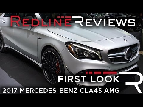 2017 Mercedes-AMG CLA45 – Redline: First Look – 2016 New York Auto Show