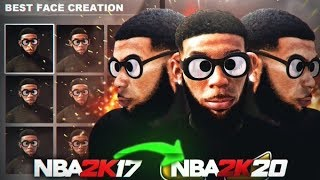 I BROUGHT BACK A NBA2k17 FACE CREATION TO NBA2K20... *SHOCKING RESULTS* 😱