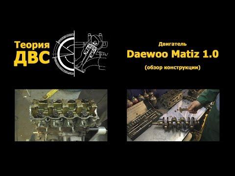 Фото к видео: Теория ДВС - Двигатель Daewoo Matiz 1.0 (обзор конструкции)
