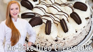 how to make simple no bake oreo cheesecake