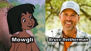 Characters and Voice Actors - The Jungle Book (1967)