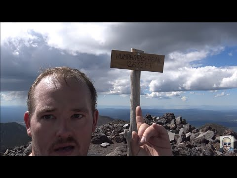 Hiking Humphreys Peak 12,633 ft Elevation Highest Point in Arizona